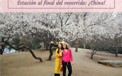 Estación al final del recorrido: ¡China! ♥