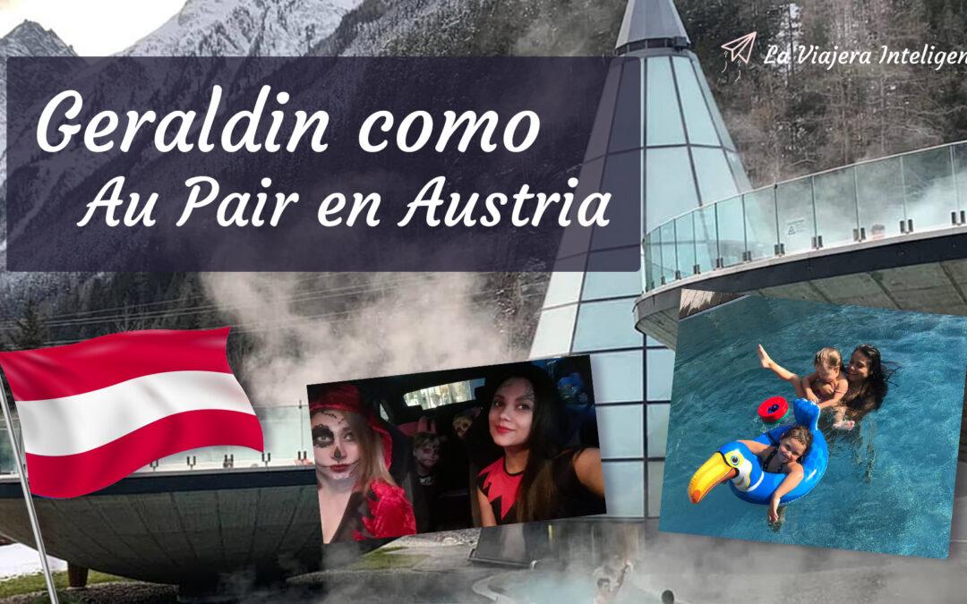 Experiencia Au Pair en Austria – Geraldin en la Cabina de La Viajera